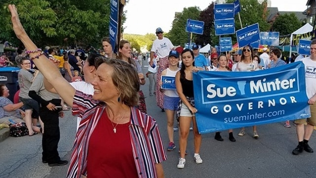 Vermont's Democratic candidate for governor, Sue Minter, wants to strengthen the state's gun laws. (Photo: Sue Minter for Governor)