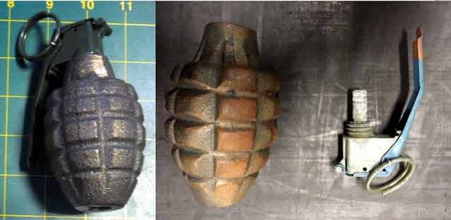 grenade seized by tsa
