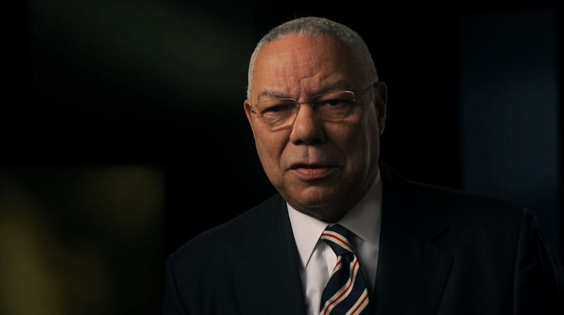 Gen. Colin Powell on the Modern Army - American War Generals Video (Photo: National Geographic Channel)