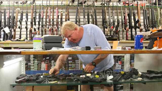gun shop burglary