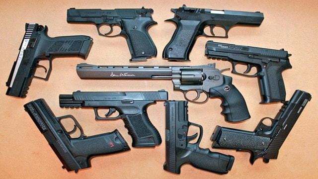 Replica air guns manufactured and sold as television and film props. (Photo: replicaairguns.com)