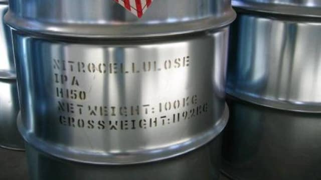 """Wetted nitrocellulose is used in the production of everything from varnishes and thinners to ammunition and propellant, and the ATF has rescinded their recent determination that the component was a high explosive pending """"further industry outreach."""" (Photo: ec21.com)"""