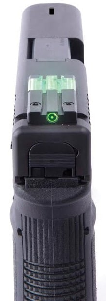 The FT Bullseye by Meprolight ditches the front sight in favor of a single, micro red dot style optic in the rear. (Photo: The Mako Group)