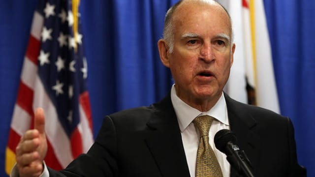 Gov. Brown signed and rejected a mixed bag of legislation this week that included police exemptions and wins for gun rights. (Photo: NBC Bay Area)