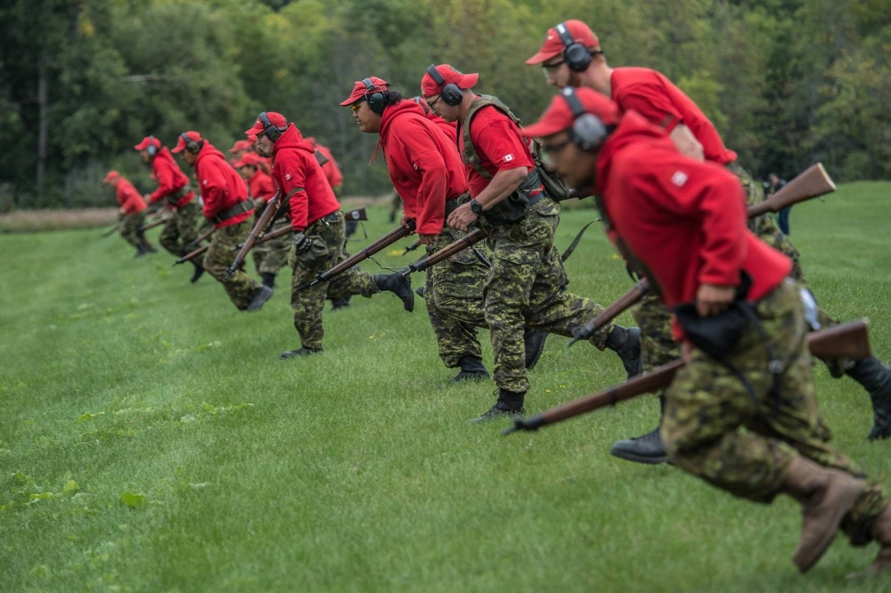 There are some 5,000 part-time Rangers in the Canadian Forces and their issue rifle is the SMLE (Photos: Corporal Doug Burke/Canadian Forces Joint Imagery Center)