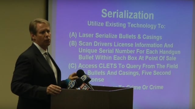 Chicago area lawmaker wants to put serial numbers on ammo (VIDEO)