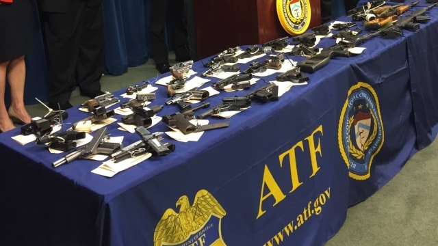 The ATF contends the five storefront operations resulted in the interdiction of 780 firearms and recommended 120 defendants for federal prosecution. The OIG found a number of improvements should be made to the process. (Photo: ATF)
