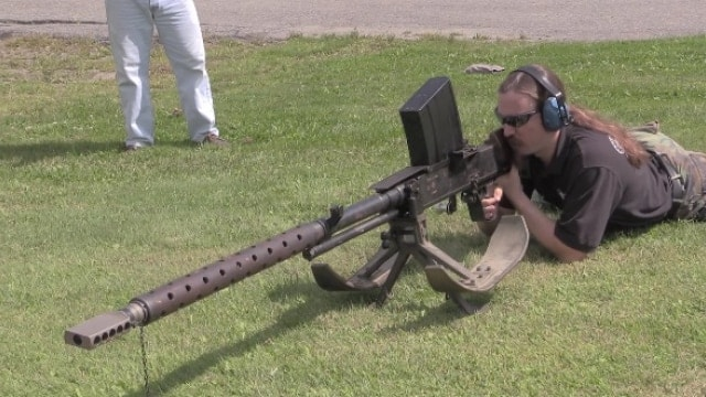 German 50 Mm Anti Tank Gun: Finnish Boombeast: Firing The Lahti 20mm Anti-tank Gun (VIDEO
