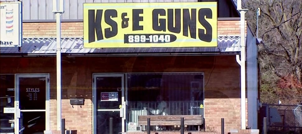 The lawsuit against KS&E Guns centers on the straw purchase of a Smith & Wesson .40 in 2011 that was used in the shooting of an Indianapolis police officer. (Photo: WTHR)