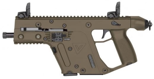 The SDP, pictured above, along with the carbine, SBR and SMG will now offer 10mm as an option for shooters looking for versatility. (Photo: Kriss USA)
