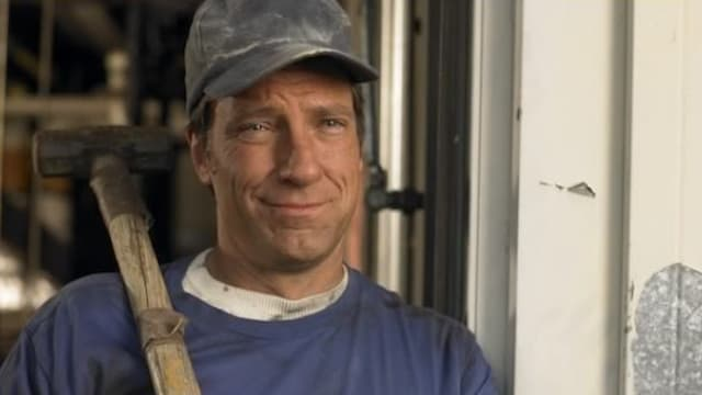 Mike Rowe really doesn't like drones, and keeps a 12 gauge under the bed