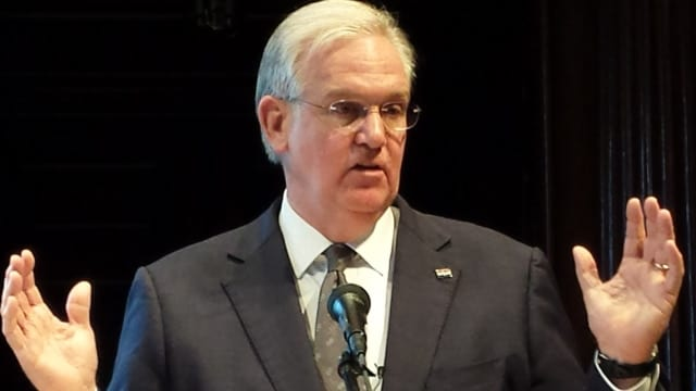 Outgoing Missouri Democrat Gov. Jay Nixon saw a host of bills he vetoed earlier this year shamble past the Governor's mansion into law under escort by the state's GOP heavy Legislature on Wednesday. (Photo: Missourinet)