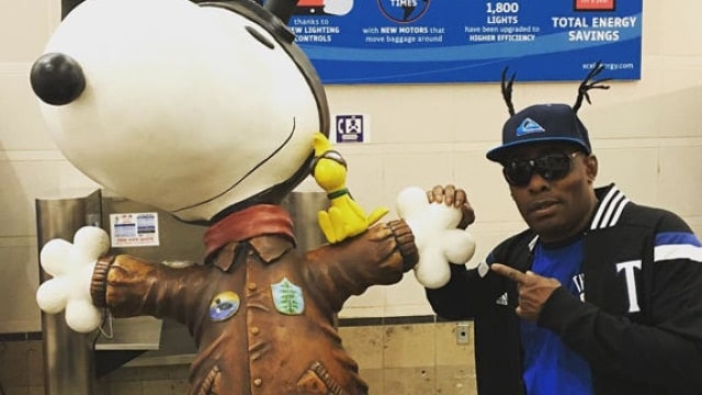 Coolio was stopped by TSA at Los Angeles International Airport over the weekend with a stolen gun. (Photo: Instagram)