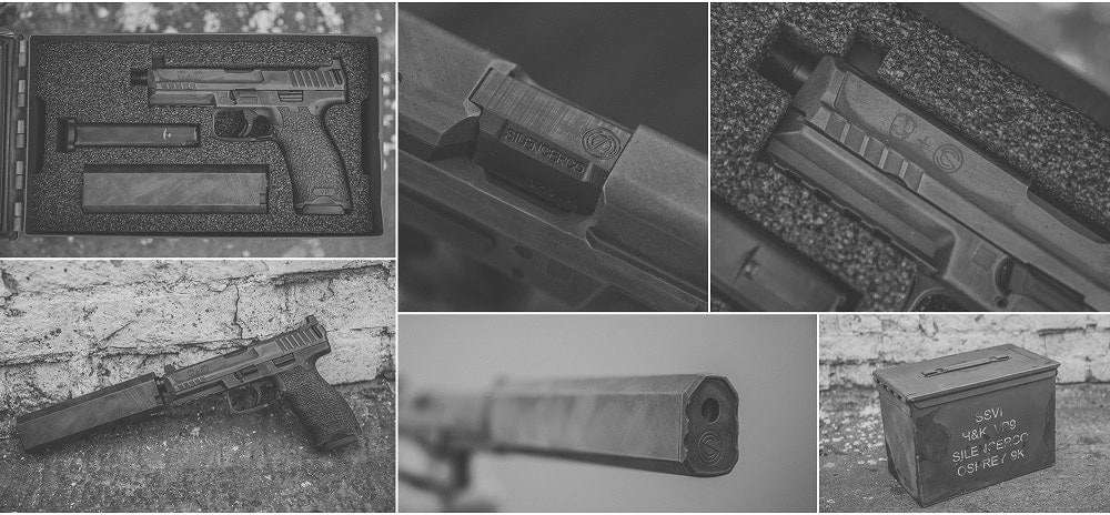 Want a host of features that include an unobtainium suppressor and customized HK? Yup. (Photos: SilencerCo)