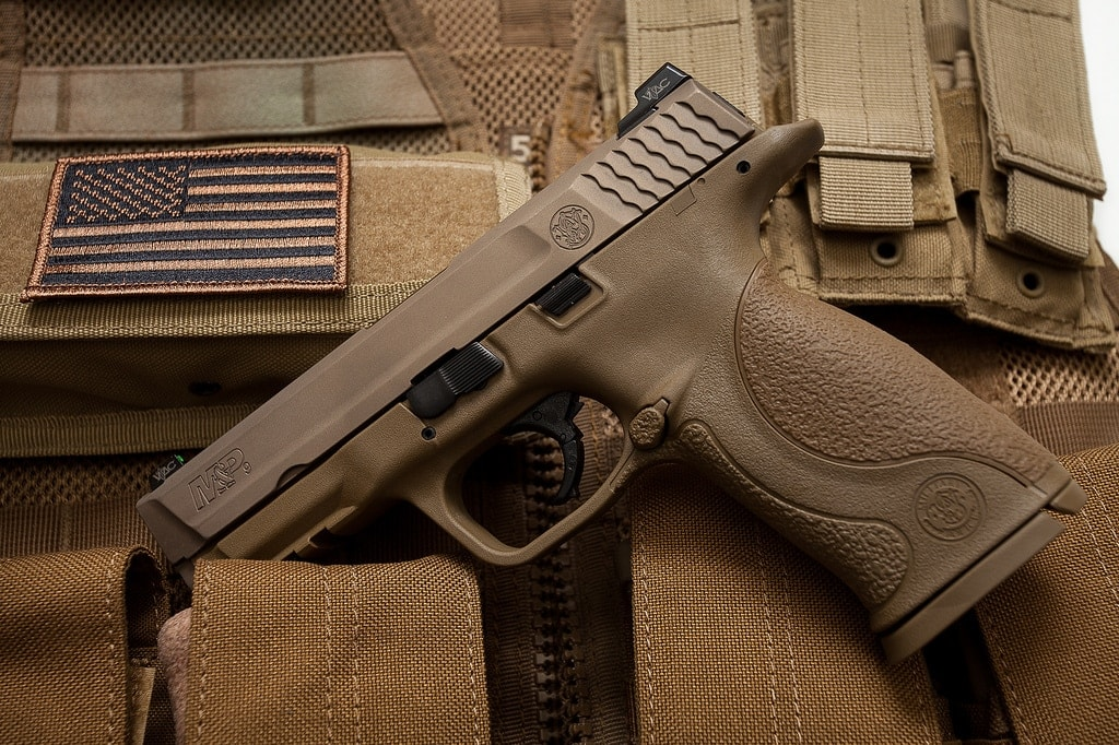 The M&P got the boot from the Modular Handgun System, ending the company's bid to become the Army's new sidearm. (Photo: Tumblr/Everyday-Cutlery)