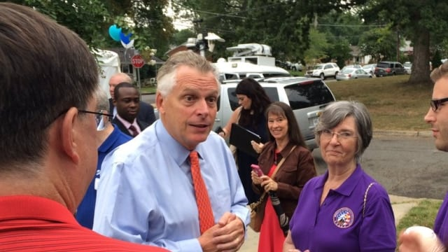 """""""These funds will assist the winning localities as they accept firearms that would often otherwise remain in homes where dangerous and volatile domestic violence situations are happening,"""" says Gov. McAuliffe (Photo: Governor's Office)"""