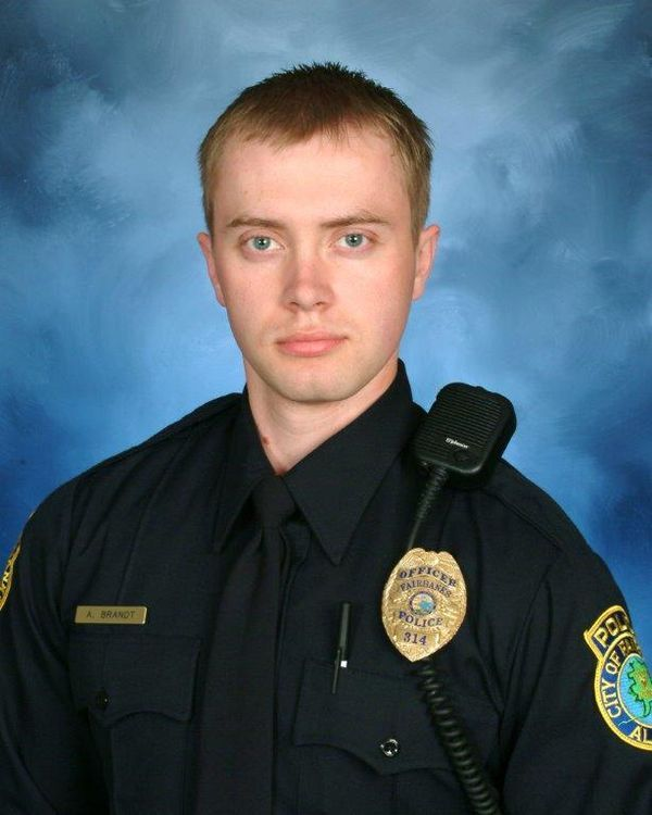 Fairbanks Police Sgt. Allen Brandt was shot five times on Oct. 16, but died a week later after complications arose after surgery. (Photo: Fairbanks Police Department)