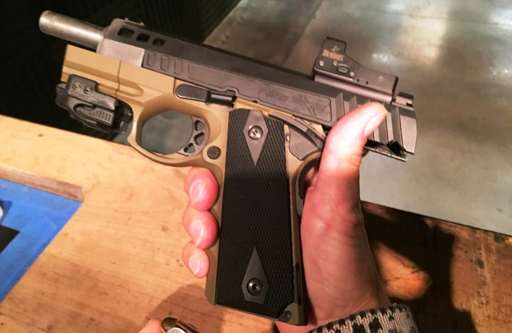 American Tactical's polymer-frame FXH-45. (Photo: Team HB)