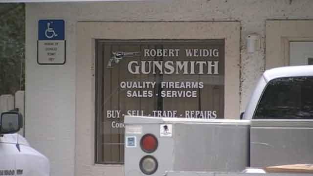 gun shop looting