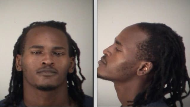 Lloyd Maurice Carter, 26, has 18 arrests under his belt, the most recent for being a felon in possession of a firearm. If only there were background checks, right? (Photo: Lake County Sheriff)