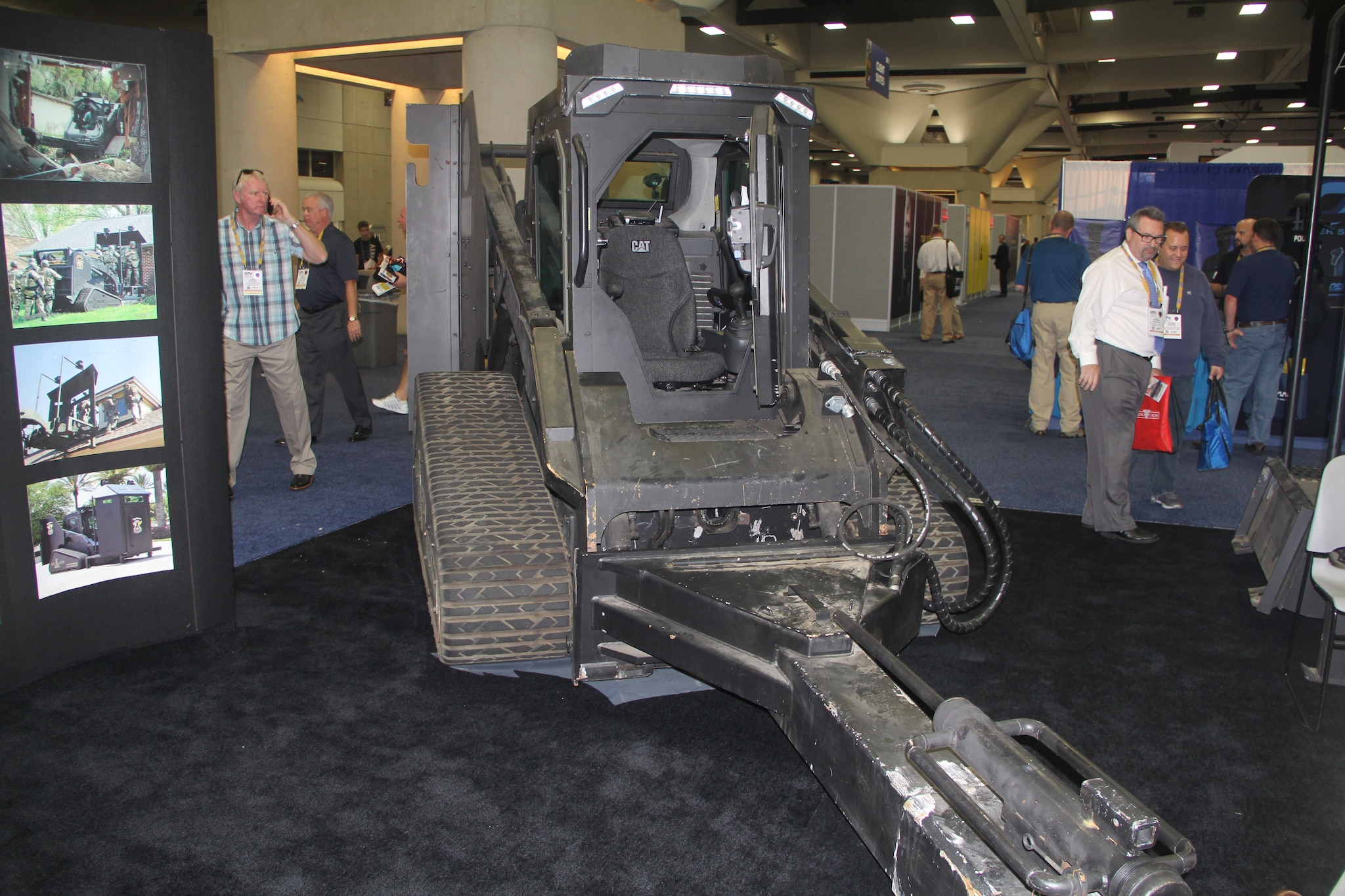 The Rook used in the San Bernardino terrorist shootout was on display during the National Association of Police Chiefs annual convention in San Diego Oct. 15-18, 2015. (Photo: Jared Morgan / Guns.com)