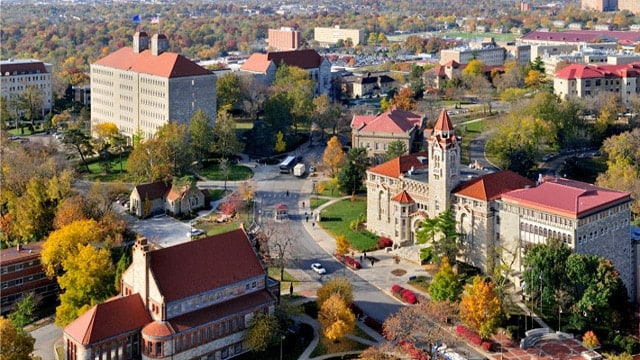 The University of Kansas campus (Photo: University of Kansas)