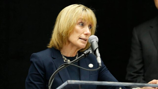 Gov. Maggie Hassan welcomed the news last week that state senators were unable to overturn her veto of a gun reform measure. (Photo: Gov. Hassan Facebook)
