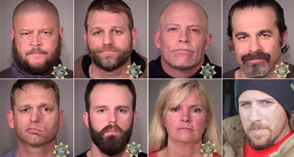 Oregon standoff bundy mugshots