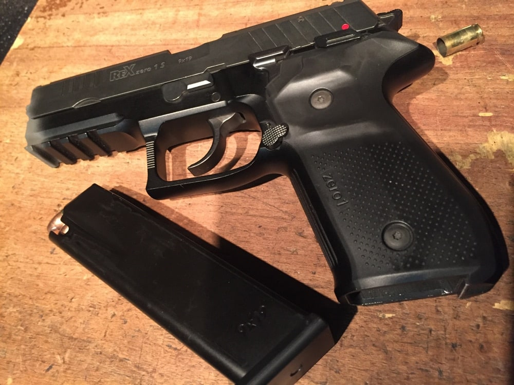 Slovenia-made REX01S 9mm, imported by FIME Group of Nevada. (Photo: Team HB)