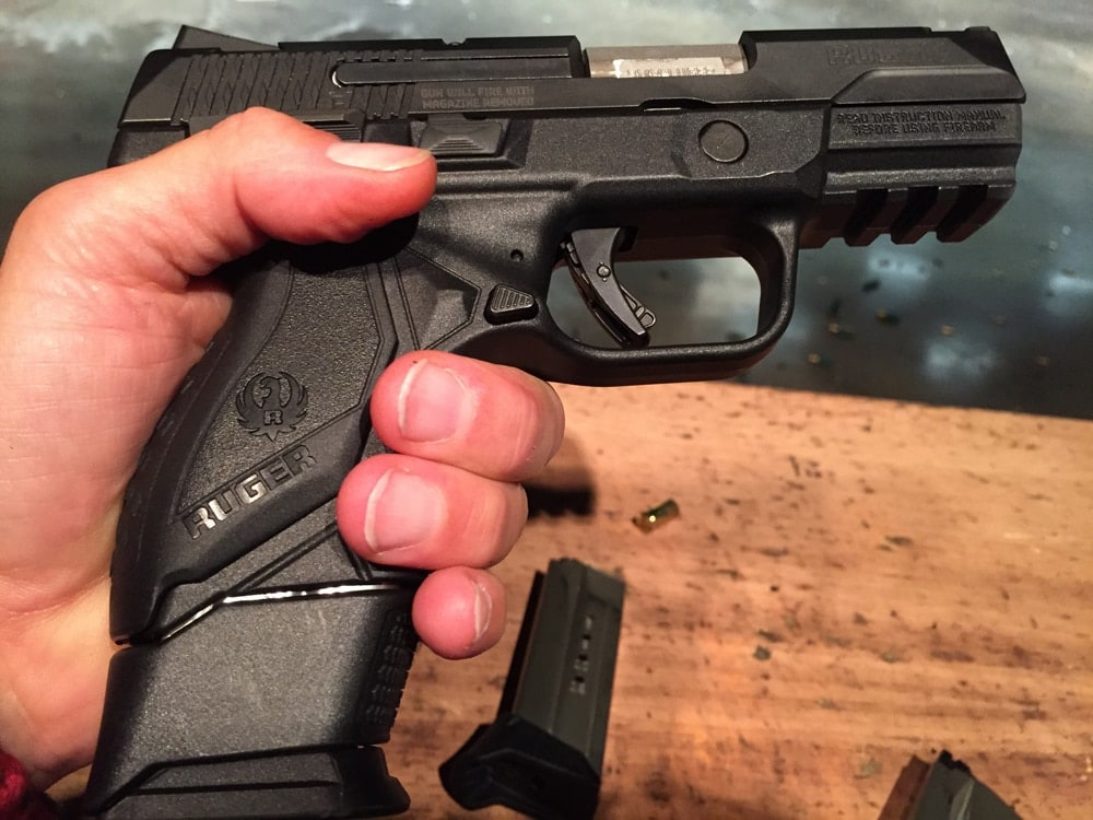 Ruger American Compact 9mm. (Photo: Team HB)