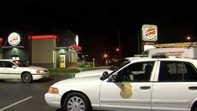 Burger King robbery