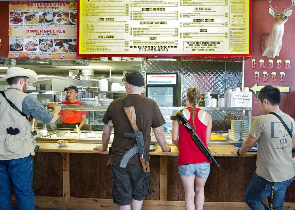 Texas3006.com gives Texans the tools to report non-gun friendly businesses through its website and mobile app. (Photo: Johnny Hanson via the Houston Chronicle)