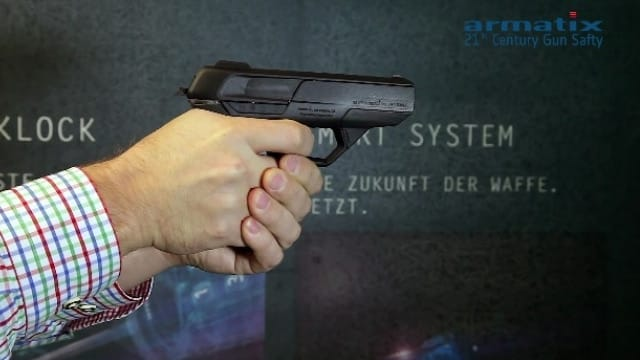 The new Armatix iP9 'smart gun' will be headed to the States in 2017