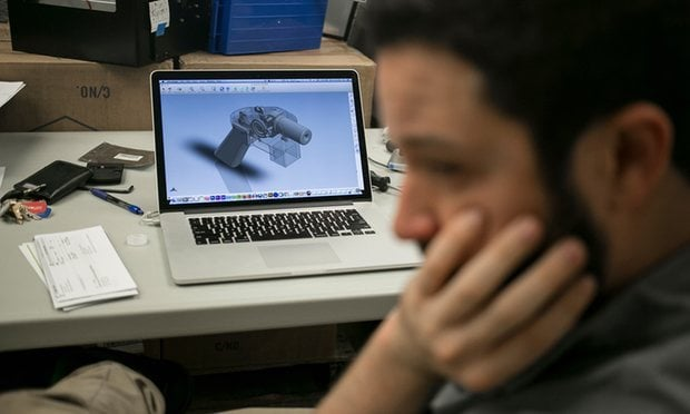 The design files were have been downloaded over 100,000 times but were ultimately ordered to be removed from the internet by the State Department. (Photo: Ilana Panich-Linsman/New York Times)