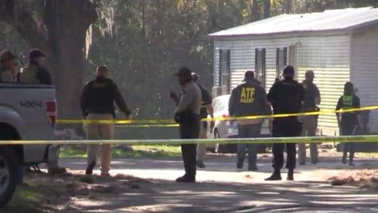 A fugitive opened fire on police who were serving an arrest warrant on the suspect accused of attempting to murder officers in South Carolina. (Photo: WSAV-TV)