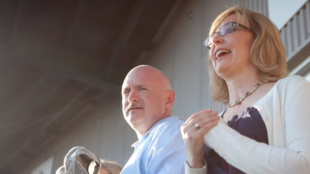 Former U.S. Rep. Gabby Giffords along with her husband Mark Kelly have crisscrossed Minnesota in the past year, stumping for candidates who are in favor of more gun control (Photo: Americans For Responsible Solutions)