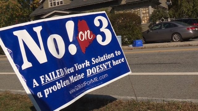 Maine's ballot measure on guns had a bigger turn out than the presidential election (Photo: WMTW.com)