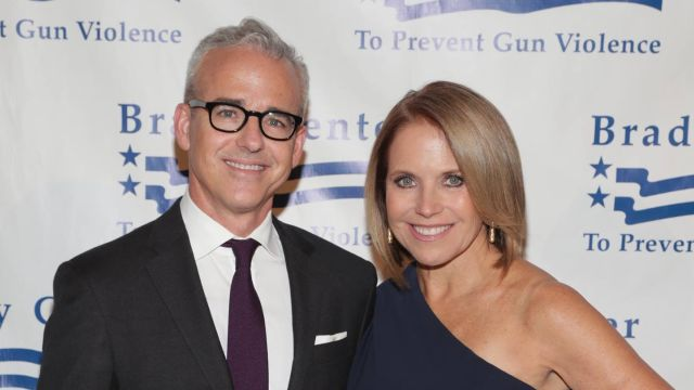 Honorees Jess Cagle and Katie Couric attend the Brady Bear Awards at Cipriani 25 Broadway on November 15, 2016 in New York City. (Photo by Cindy Ord/Getty Images/Via Brady)