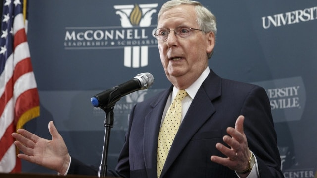 U.S. Senate Majority Leader Mitch McConnell will likely continue in his current role in the next Congress after Republicans lost a seat Tuesday and still has two in play. (Photo: J. Scott Applewhite/AP)