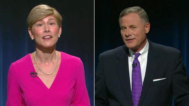 North Carolina is the site of a toss-up fight between incumbent U.S. Sen. Richard Burr and Democrat challenger Deborah Ross. (Photo: WRAL)