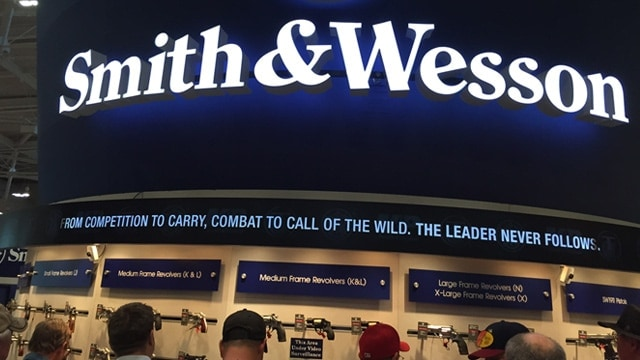 Smith & Wesson or American Outdoor Brands Corporation? (Photo: Daniel Terrill)