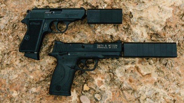 """""""The Hearing Protection Act is about one thing: giving the law abiding citizens of our country the ability to protect their hearing while exercising their right to hunt and recreationally shoot without the onerous burden that the National Firearms Act places on suppressors,"""" an industry spokesman told Guns.com (Photo: SilencerCo)"""