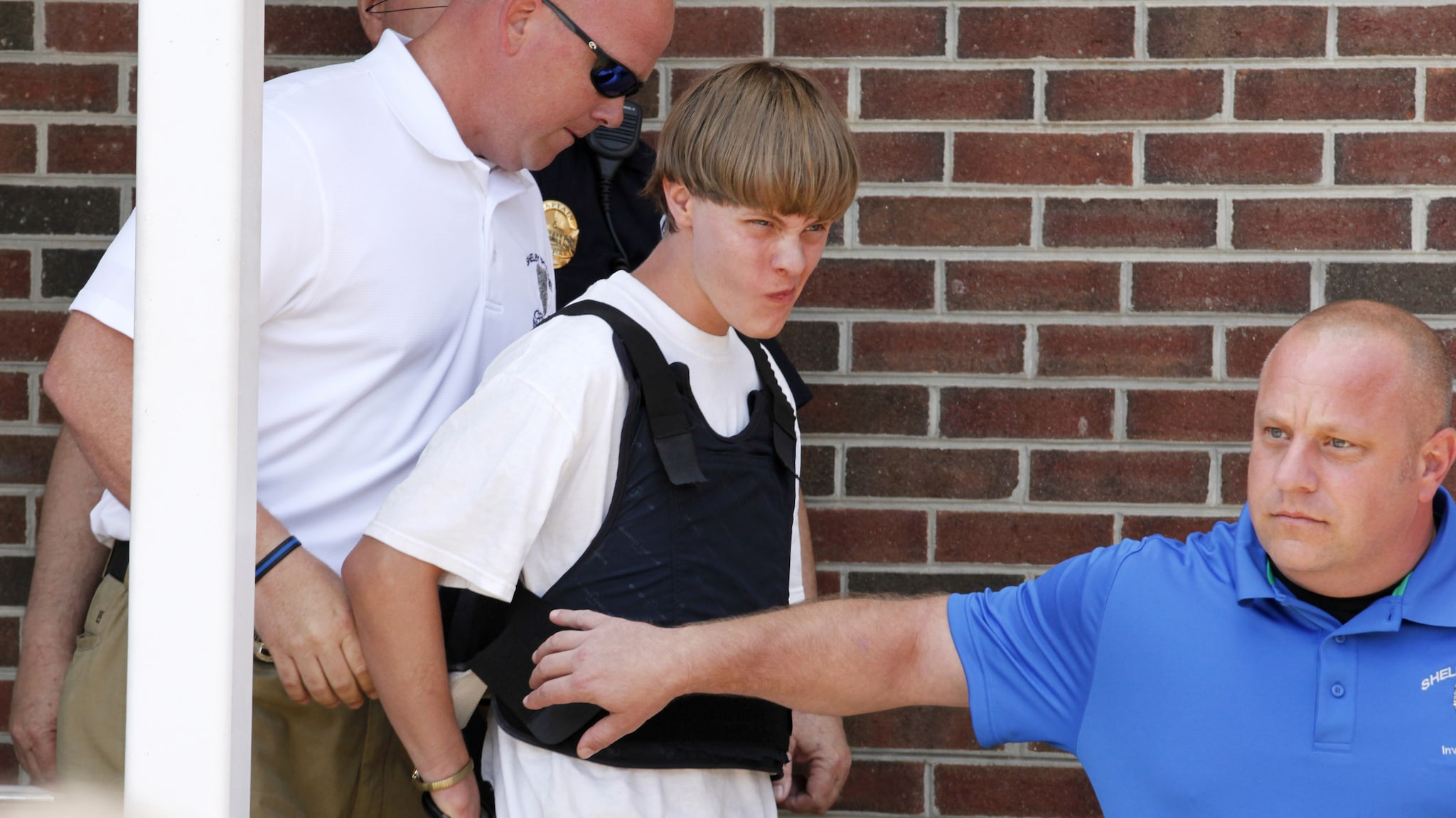 Dylann Roof, then 21, was arrested June 18, 2015. Roof is suspected of killing nine people during a prayer service at an historic African-American church in Charleston, South Carolina (Photo: Reuters)