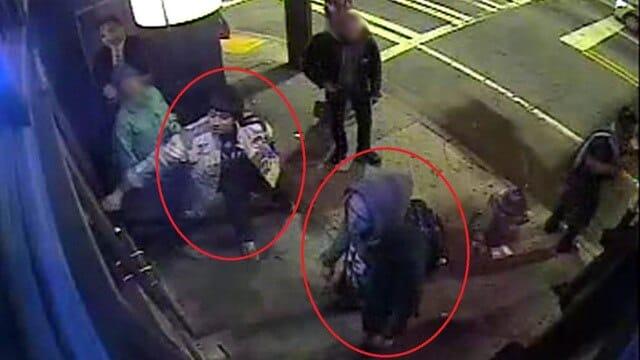 Surveillance video showing shooter