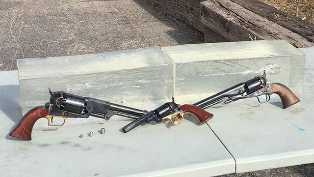 gun review classic cap and ball revolver calibers get the ballistic