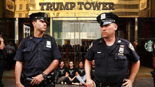 Trump security