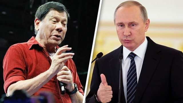 Putin Duterte and Putin photo