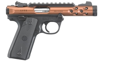 The new Mark IV 22/45 Lite comes with a near-full length Picatinny rail mount
