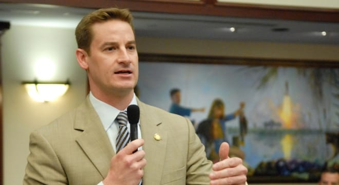 The new Florida Senate Judiciary chair, Sen. Greg Steube, wants to bring open carry to the state. (Photo: AP)