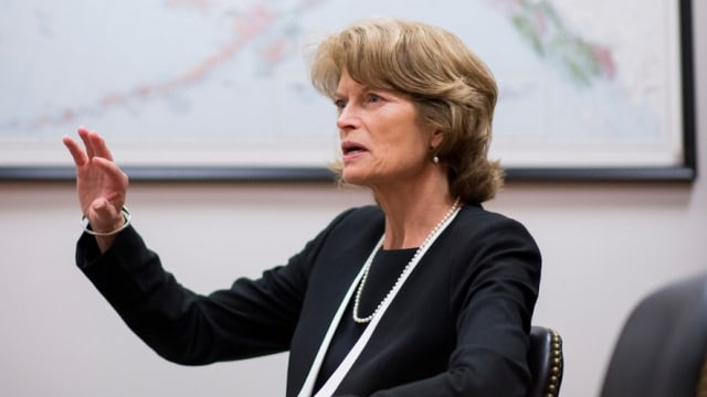 Alaska Sen. Lisa Murkowski feels the federal government's policy when it comes to gun prohibitions for legal marijuana users may go too far. (Photo: Bill Clark/CQ Roll Call)